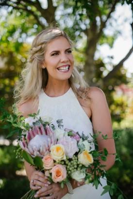 bride in rachel gilbert
