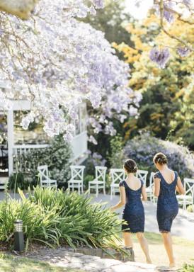 bridesmaids in review dresses