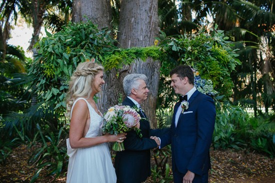 father of the bride handshake