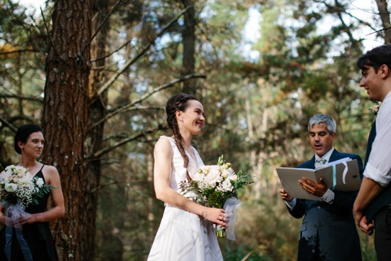 forest marriage ceremony