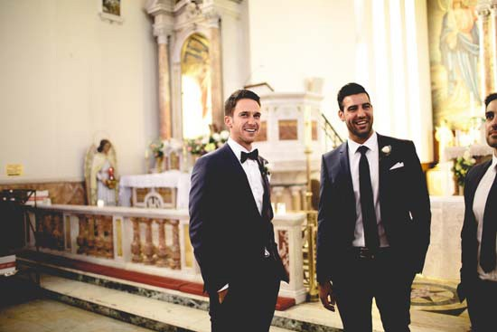 groom in hawthorn church