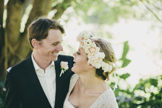 happy elopement couple