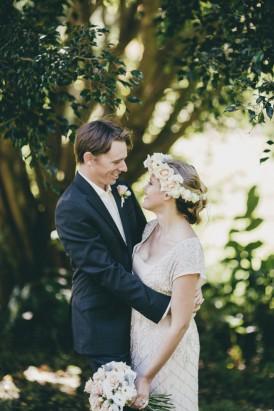 newlyweds elopement