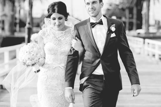 newlyweds in st kilda