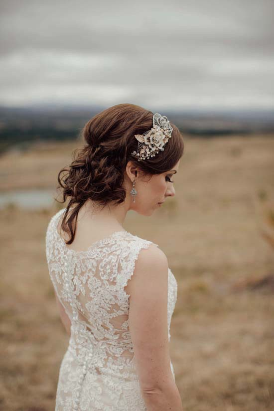 real bride in Maggie Sottero