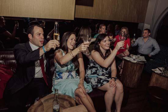 toast at The Treehouse Bar