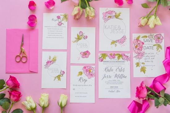 watercolour wedding invitations0001