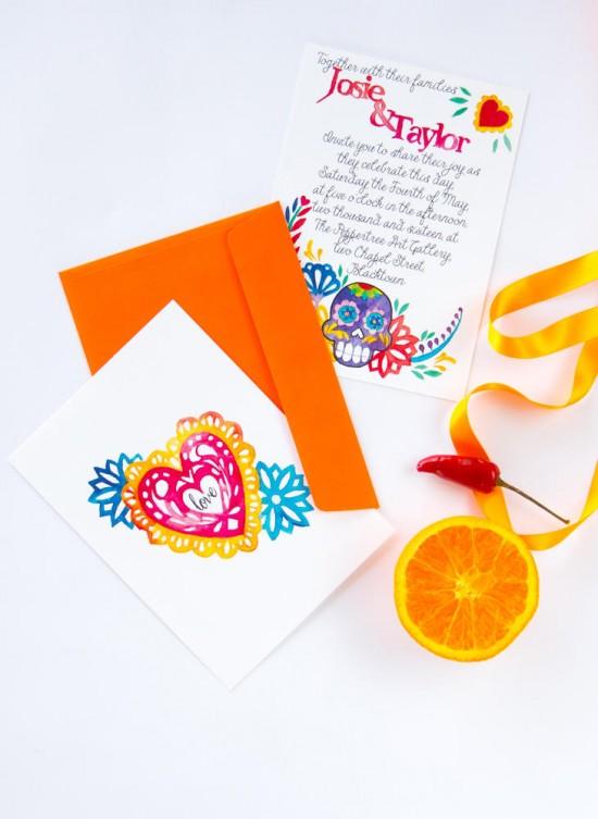 watercolour wedding invitations0006