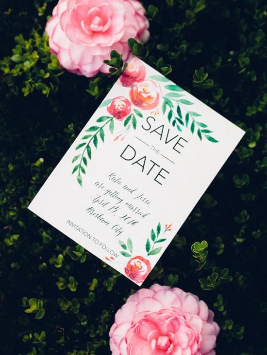 watercolour wedding invitations0007