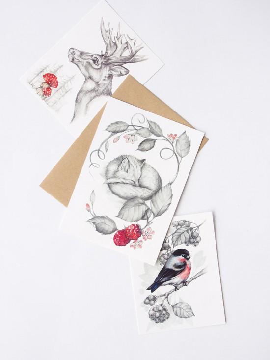 watercolour wedding invitations0014