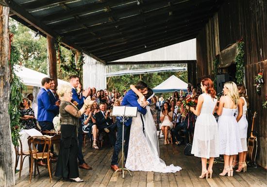 wedding at Alverstoke on the Brunswick,