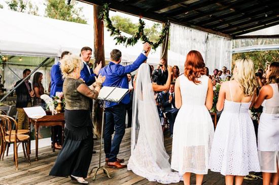 wedding ceremony at alverstoke