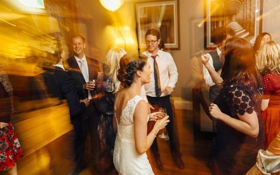 wedding dancing at clovelly