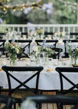wedding reception at clovelly estate