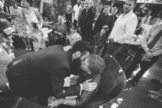 Adelaide wedding hugs