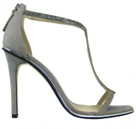 Adrina Grey Wittner Wedding Shoes