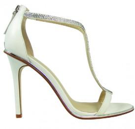 Adrina White Wittner Wedding Shoes