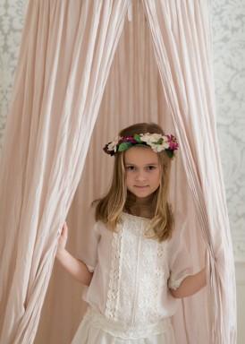 Alexa dress under canopy