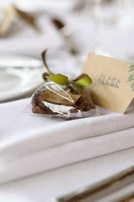 Almond brittle wedding favors