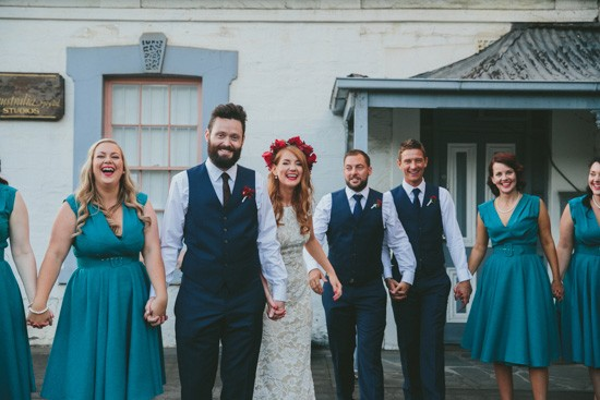 Bridal party in Adelaide