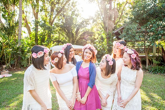 Bridal party party