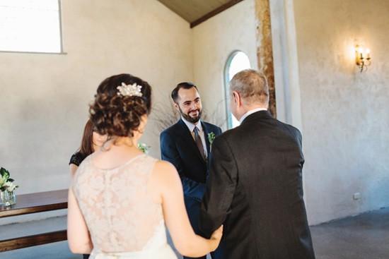 Bride Processional At Stones