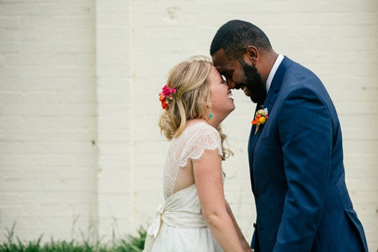 Bride and groom at Main Ridge