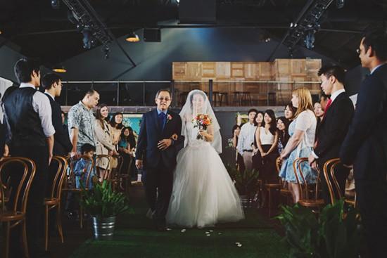 Bride at Melbourne wedding