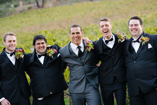Brookside Vineyard Groomsmen