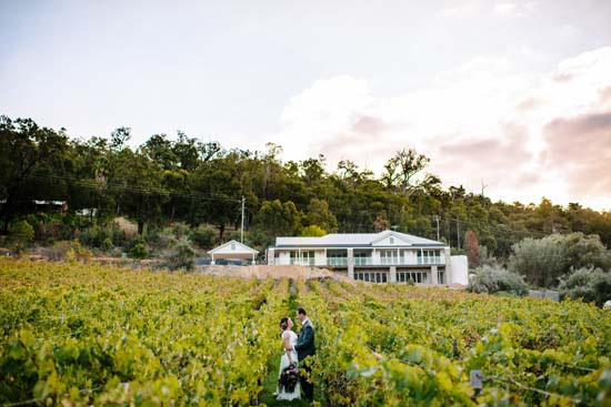 Brookside Vineyard Wedding