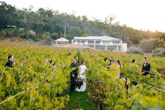 Brookside Vineyard Wedding photo