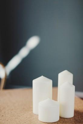 Candles At Wedding