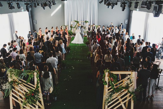 Cargo Hall Wedding Ceremony