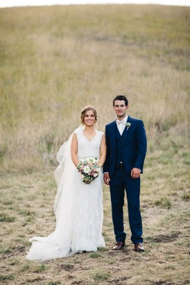 Clyde Park Winery newlyweds