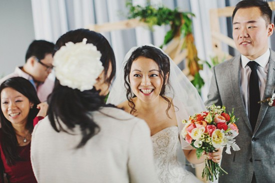 Congratulations at melbourne wedding