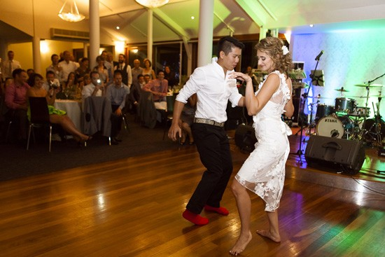 First dance at Australian wedding
