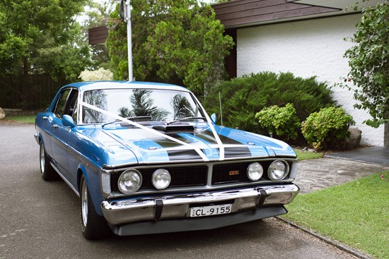 Ford XY Falcon GT Wedding Car
