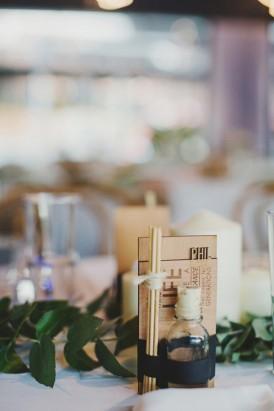Laser cut wedding favors
