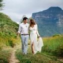 Lord Howe Island Newlyweds Walking