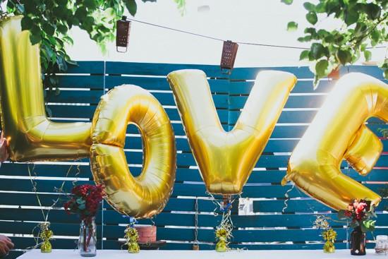 Love letter baloons
