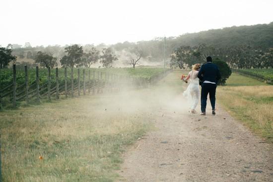 Main Ridge winery wedding
