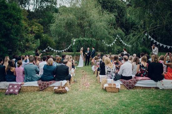 Melbourne backyard wedding