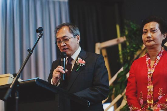 Modern Melbourne wedding speech