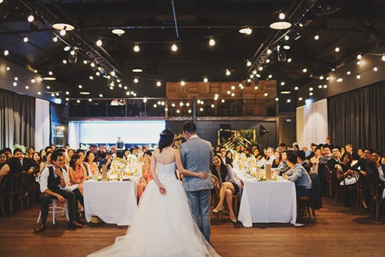 Modern Melbourne wedding venue