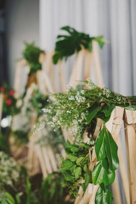 Modern wedding ceremony idea