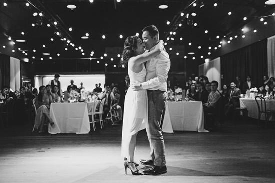 Modern wedding dance