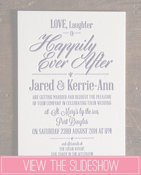 Navy Wedding Invitation Roundup