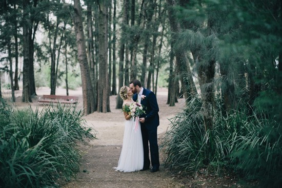 Newlyweds in Canberra