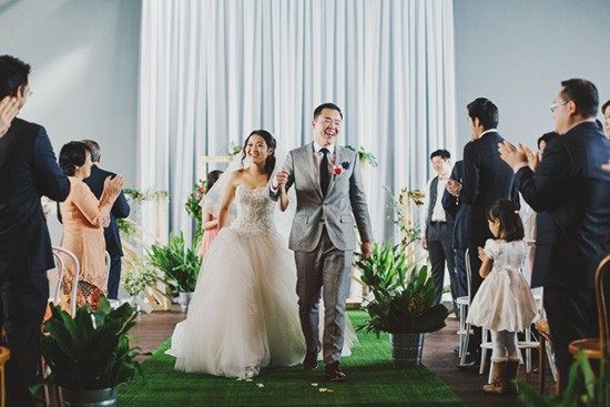 Recessional at cargo hall