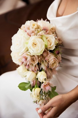 Rose and Blushing Bride Bouquet